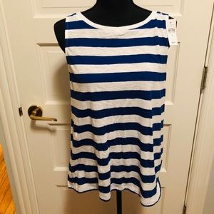 NWT striped tank from LOFT